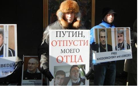 Сын Ходорковского