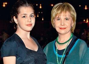 Догилева и ее дочь Катя