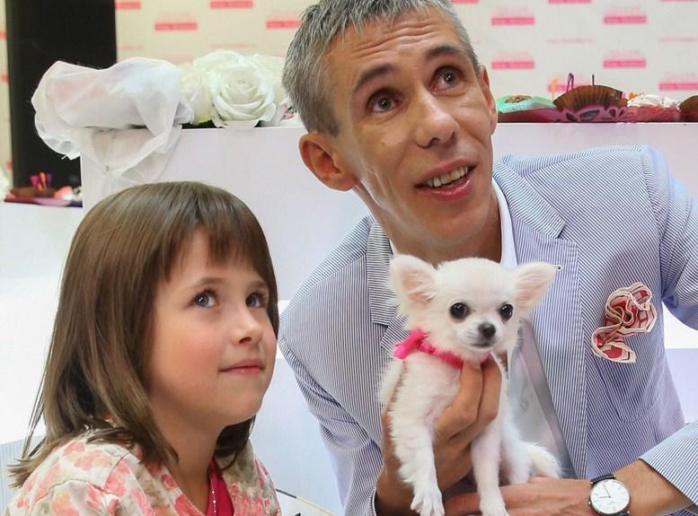 Панин с дочерью, фото
