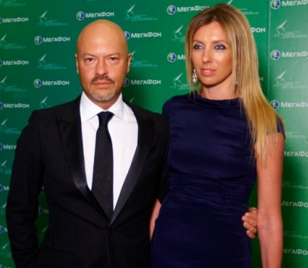 Федор Бондарчук с женой — копия
