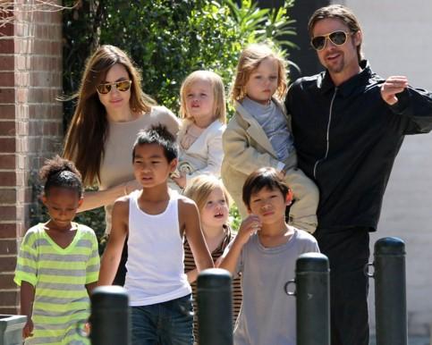 Джоли и Питт_дети