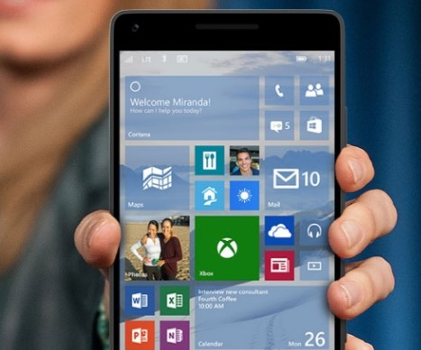 Windows 10 Mobile 1