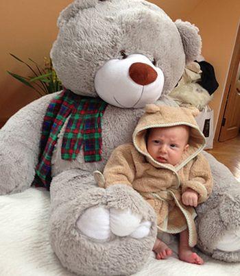 Даниэль, сын Евгении Феофелактовой и Агтона Гусева, фото