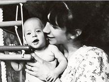 Валерия с сыном Ваней