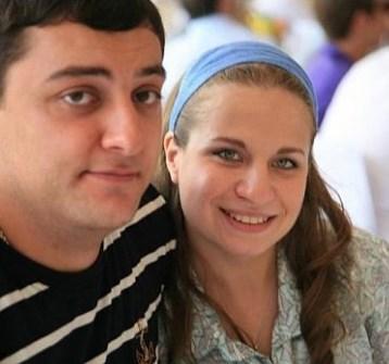 Анжелика Коломойская с мужем