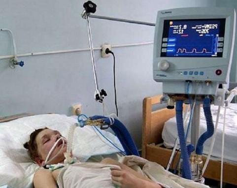 Маша Кончаловская в больнице